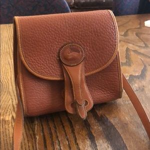 Vintage leather Dooney & Bourke over the shoulder